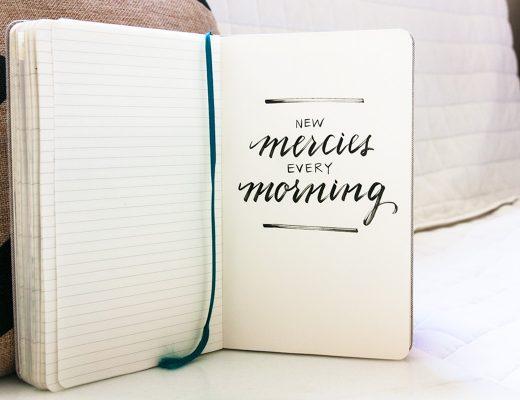 new mercies every morning