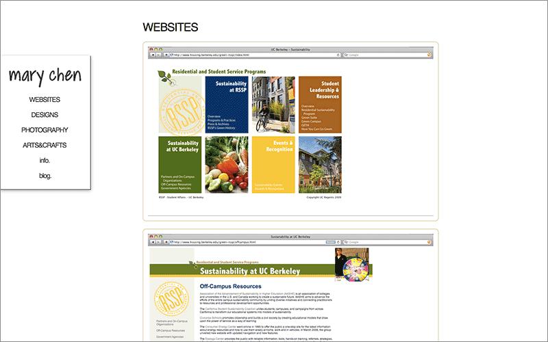 My previous website pieces