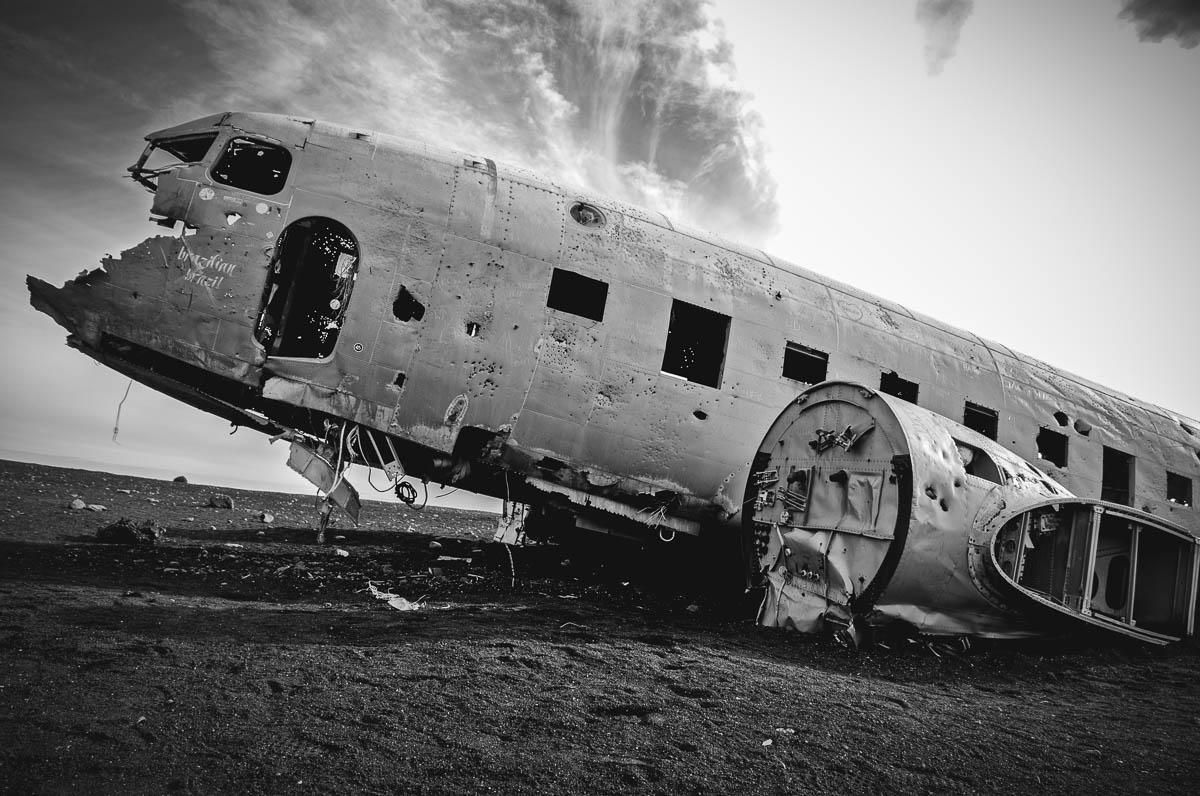 abandoned DC plane at Sólheimasandur, Iceland