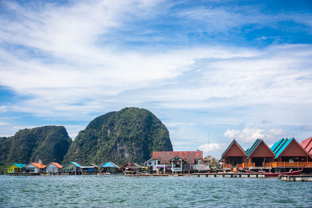 traditional houses on Phi Phi Island