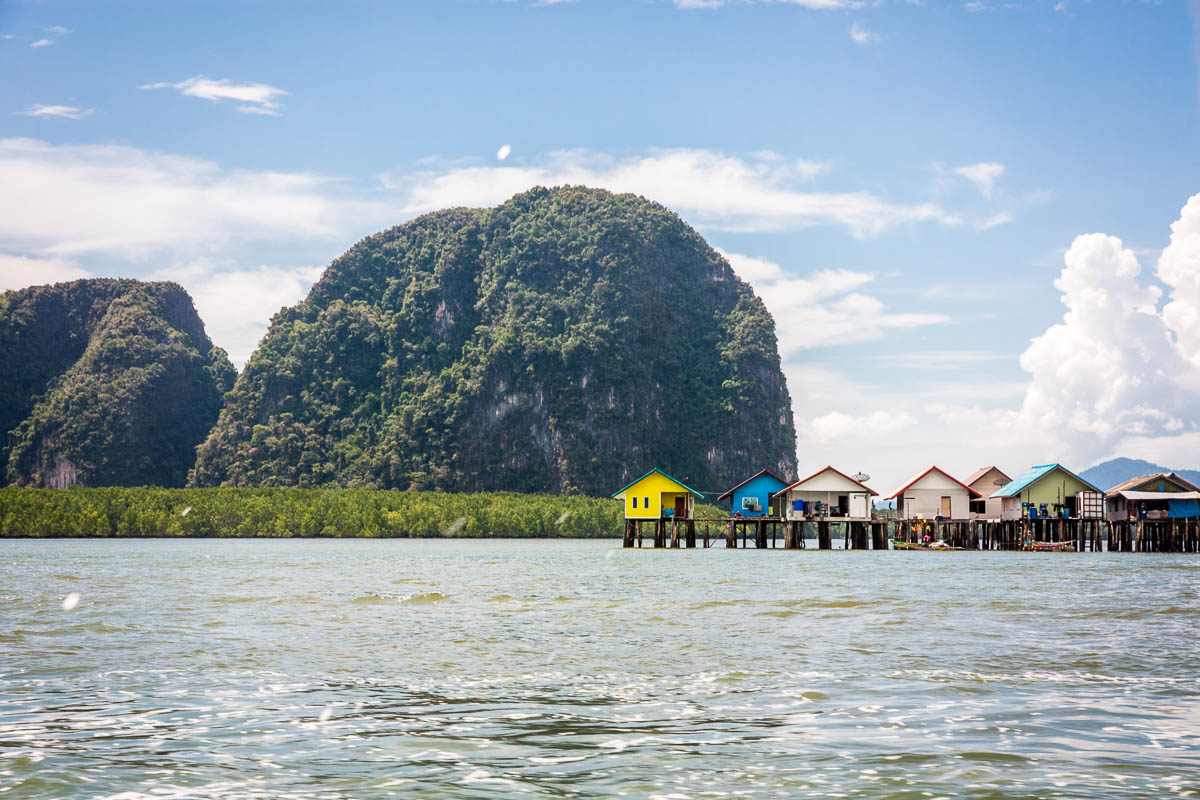 thailand boat houses