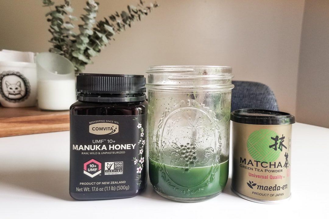 dalgona matcha recipe ingredients