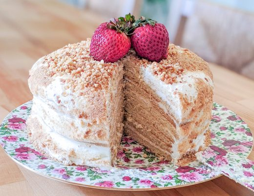 8 layer honey cake recipe