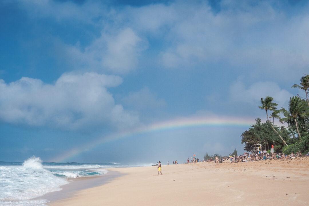 bonzai pipeline beach oahu hawaii